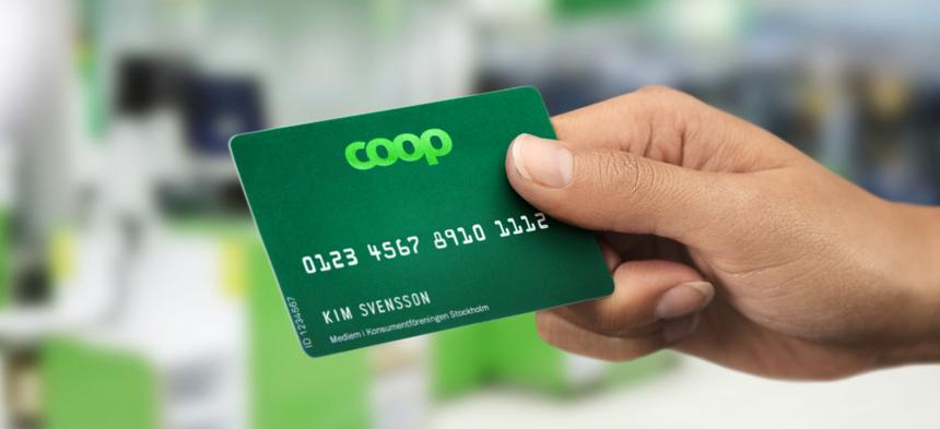 Coop extra medlemskort