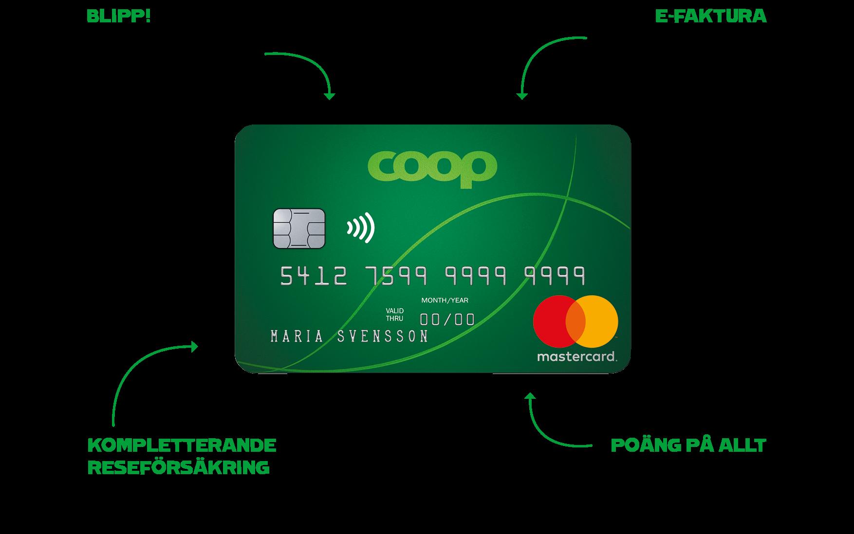 35cda963d65af6 Den 5 mars började ditt nya Coop Mastercard från EnterCard att gälla, och  ditt dåvarande kort från MedMera Bank sluta fungera.