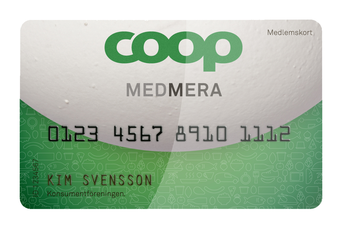 coop medlemskort saldo